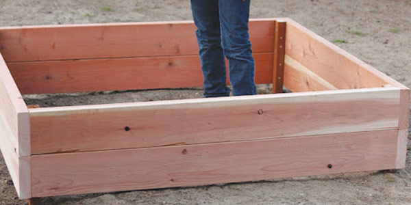 frame your garden bed