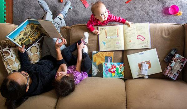 Teach a Second Language at home