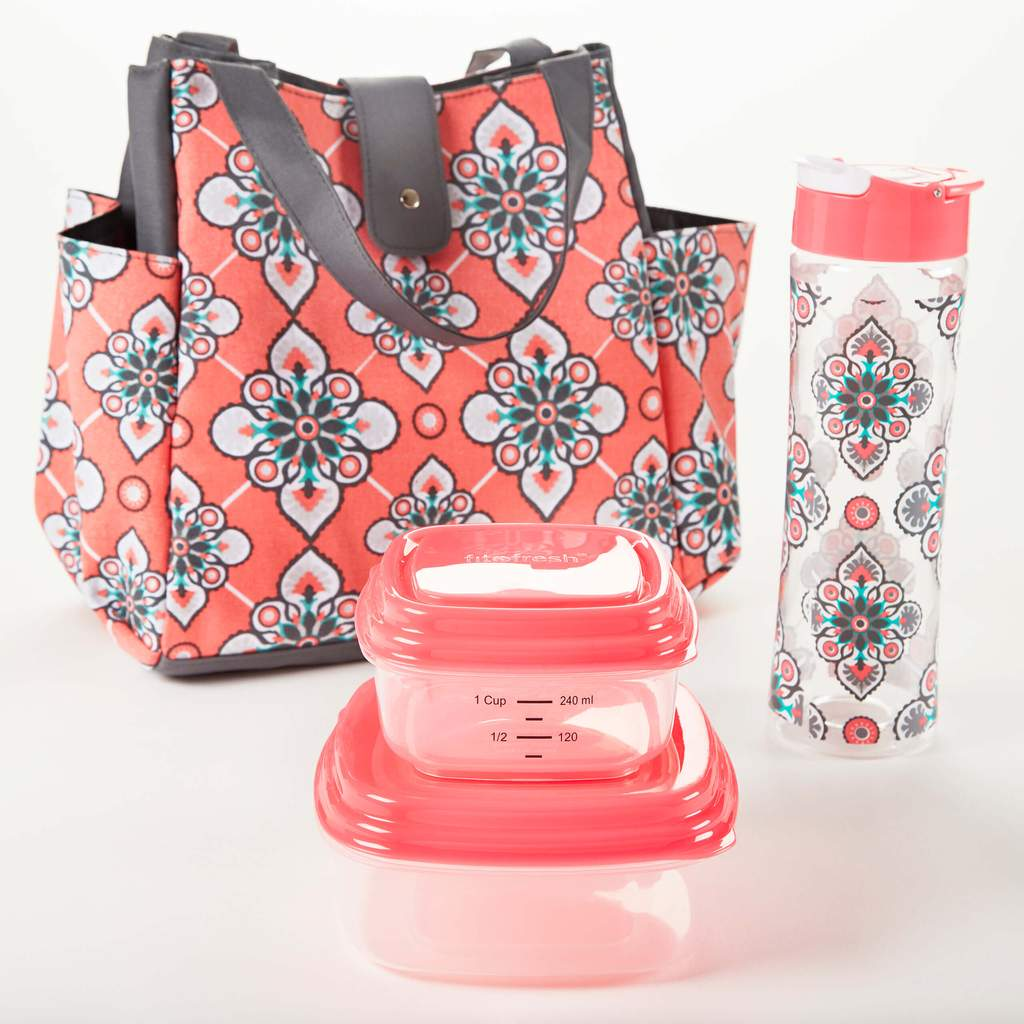 lunch bag and meal prep