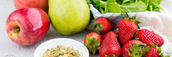 apple strawberry pear salad