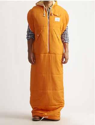 Jack threads wearable sleeping bag