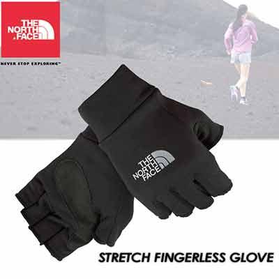 North Face fingerless gloves