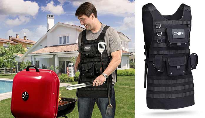 tactical apron from ThinkGeek