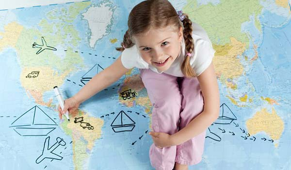 Travel abroad with children