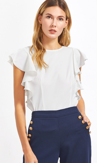 white-ruffle-sleeve-top
